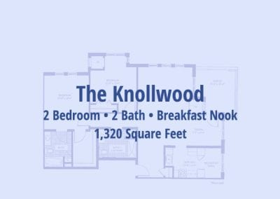 The Knollwood, 1,320 sq ft