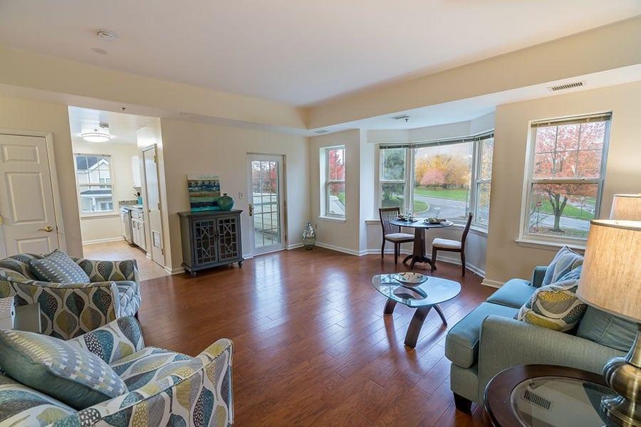 The Whitney- Living Room