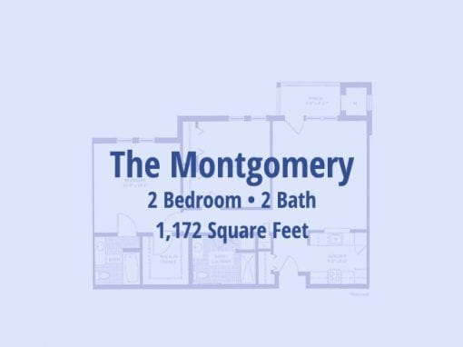 The Montgomery, 1,172 sq ft