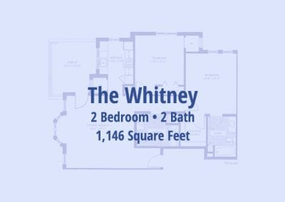 The Whitney, 1,146 sq ft