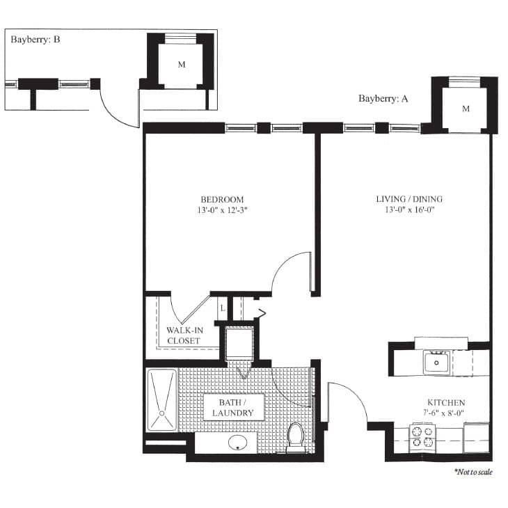 The Bayberry- Floor Plan