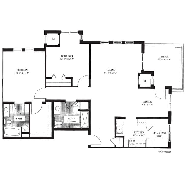 The Knollwood- Floor Plan