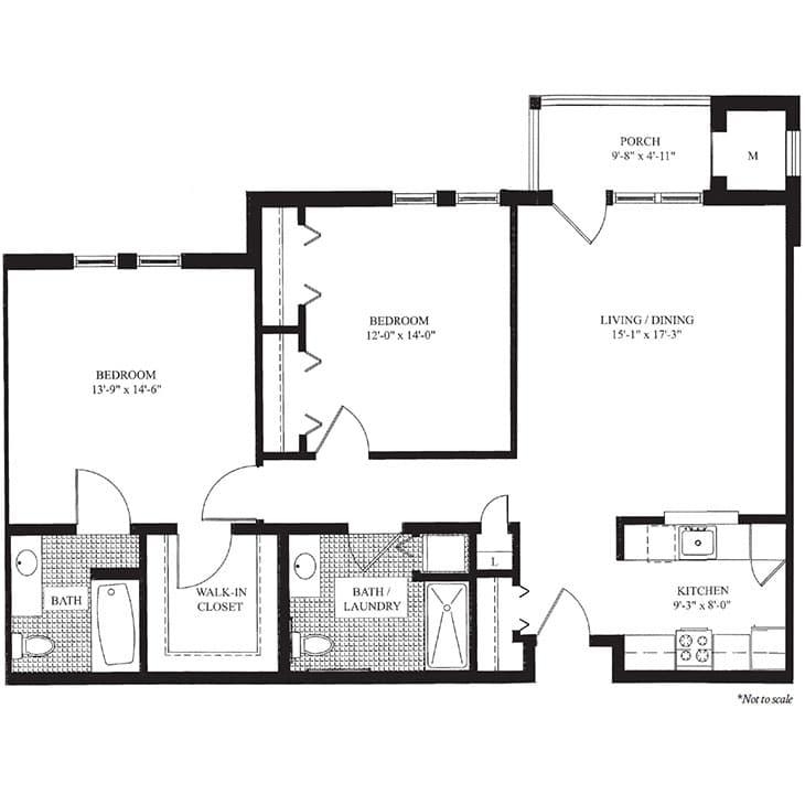 The Montgomery- Floor Plan