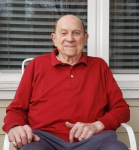 Carl P. is one of the newest members of the Men's Club at The Knolls.