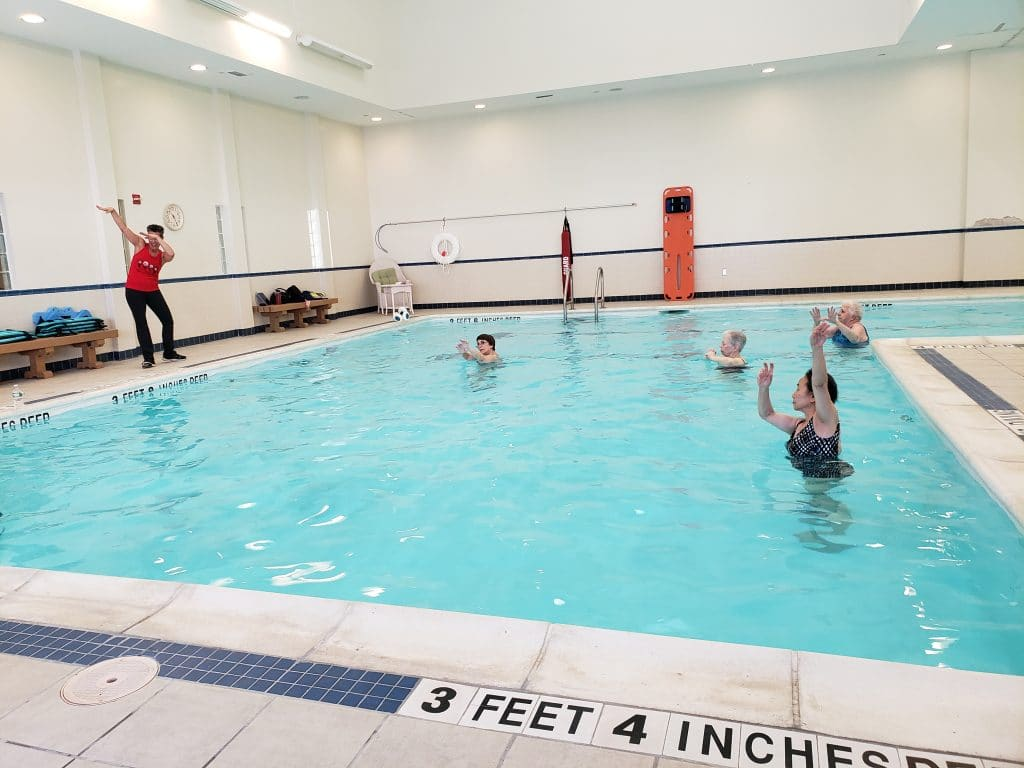 Aqua Zumba at The Knolls is always a splashingly good time!