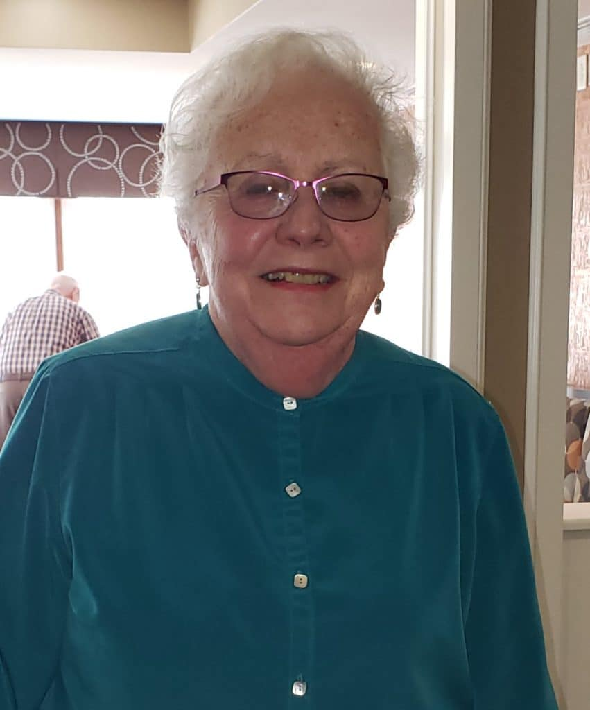 Gail R. is the current vice president of the residents' council at The Knolls.