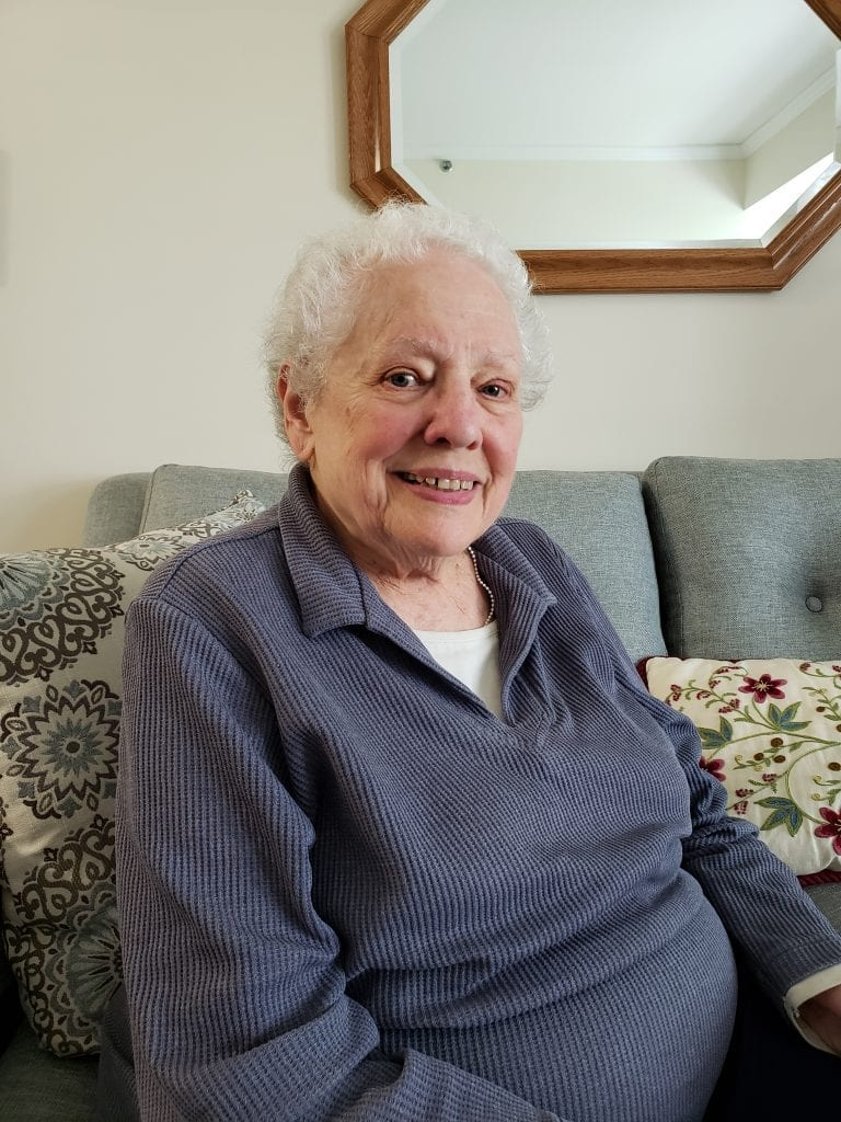 Renie K. is happy that she decided to make her home at The Knolls in Westchester.
