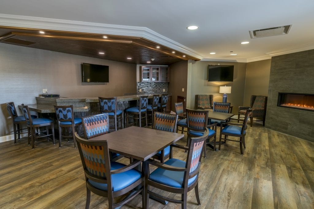 The Knolls debuts a new look with renovations that also improved the casual yet elegant pub space.